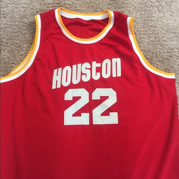 239e0284fef Drexler Houston Rockets NBA jersey. M 5c4b5b352beb792eb8ffe214